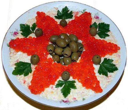 salat-zvezda-s-krasnoj-ikroj