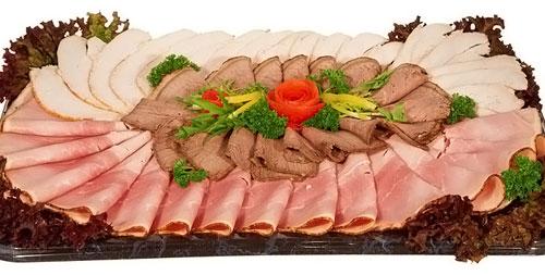 Мясная нарезка на праздничный стол