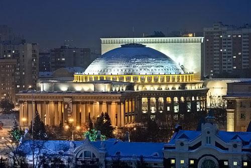 Где провести Новый год в Новосибирске
