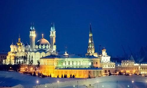 Где встретить Новый год в Казани