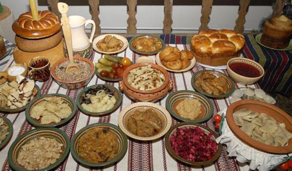 что готовить на Рождество 12 блюд