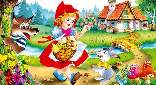 Новогодняя сценка Красная шапочка