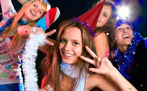Новогодняя сказка на новый лад для старшеклассников