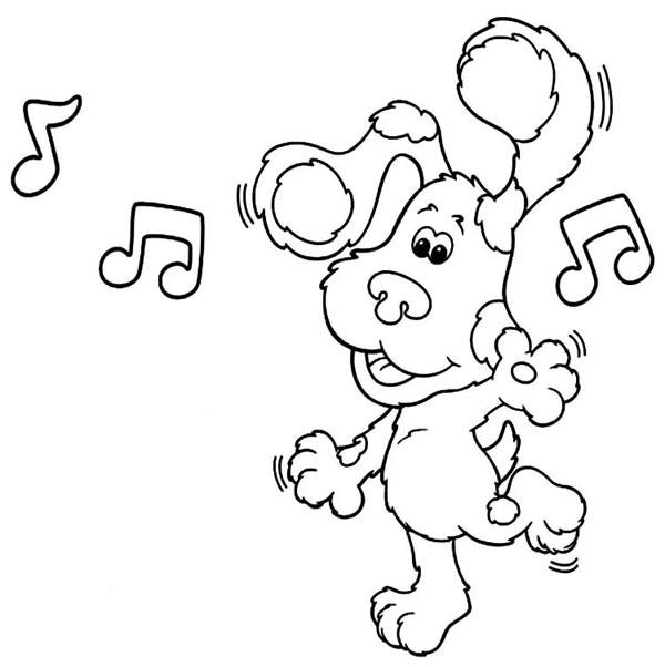 нарисовать танцующую собаку