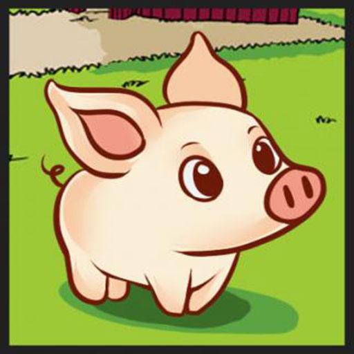 Мультяшная свинья