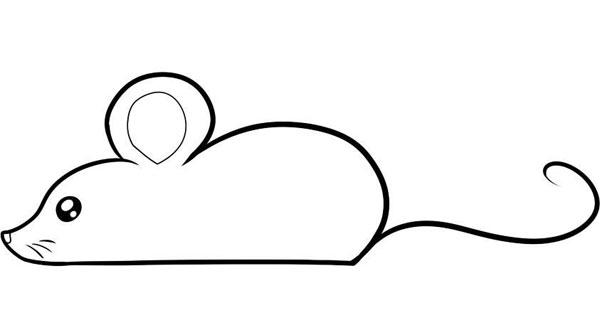 Простой рисунок мыши