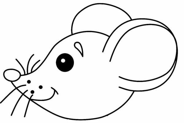 Как нарисовать голову мышки
