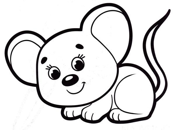 как нарисовать красивую мышку